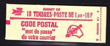 FRANCE CARNET 1892-C2 ** MNH carnet fermé, conf. N° 3, TB, cote: 16 €