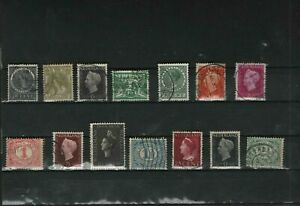 14 x Alt Niederlande Marken (c16)