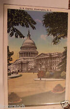 1936 POSTCARD US UNITED STATES CAPITOL WASHINGTON D.C. DISTRICT OF COLUMBIA