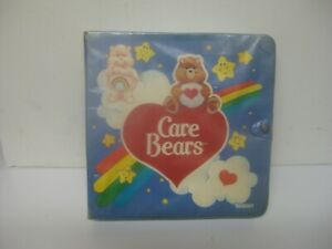 care bears carrying case by kenner, vintage 1980s