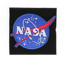 NASA Space Program Ecusson Brodé Hook & Loop Patch New