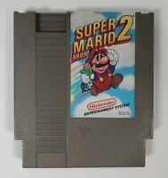 Super Mario Bros. 2 (Nintendo Entertainment System NES, 1988) Tested/Works