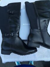 ANDIE~AVENUE~BOOTS~BLACK~BOOT~13 W~13W~SEXY~COMFY~SHOES~NEW
