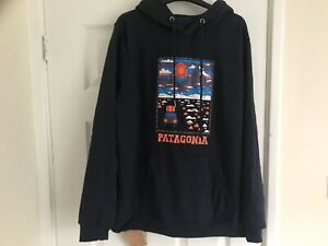 PATAGONIA MENS HOODIE JUMPER FLEECE SIZE XL - COST £80 - BRAND NEW WITH TAGS