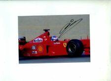 Mika Salo Ferrari F399 Austrian Grand Prix 1999 Signed Photograph 4