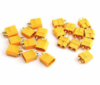 10 Pairs XT60 High Quality Male/Female Bullet Connectors Plugs For RC Battery YI