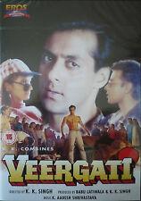 VEERGATI - BOLLYWOOD DVD - SALMAN KHAN - Eros Bollywood indian movie dvd