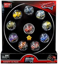 Disney Cars Die Cast Mini Racers Variety 10-Pack