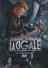 "DVD ""JOHNNY HALLYDAY LA CIGALE 2006""   NEUF SOUS BLISTER"