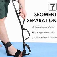 Set di cinghie elastiche multi-loop e barella per i piedi Yoga Stretching per