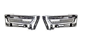 For 2013 Honda Accord Sedan Fog Light Lamp Assembly PAIR Left Side + Right Side