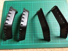RC CRAWLER FENDER FLARES 1 SET,body shell parts black.