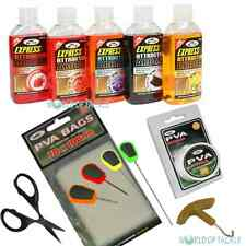 Baiting Needle Set Boilie Glugs / Dips PVA Bags and PVA String for Carp Fishing