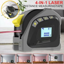 Digital Laser Tape Measure Point Distance Range Finder Measuring Tape 40M