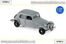 Citroën 11 A de 1937 Grey Couleur Grise - NOREV - NO 153027 - Echelle 1/87 NEWS