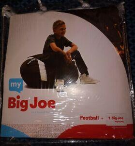 My Big Joe Kids' Football Brown Bean Bag Chair Cover