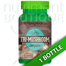 Triple Mushroom Extract Complex 60 Caps - Maitake/Shitake/Reishi Piping Rock