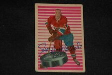 JEAN GUY TALBOT 1963-64 PARKHURST SIGNED AUTOGRAPHED CARD #81 CANADIENS