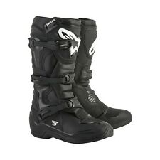 Alpinestars Black Tech 3 Men's Size 7 Off Road MX Motorcycle Boots 2013018-10-7