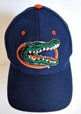 Florida Gators Baseball Cap Size 6 7/8 Fitted Blue Orange Zephyr Wool Blend