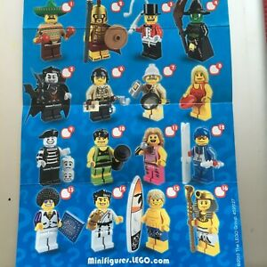 GENUINE LEGO MINIFIGURES FROM  SERIES 2 CHOOSE THE ONE YOU NEED