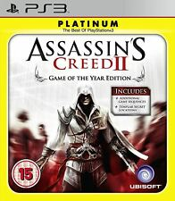 Assassin's Creed 2 II - Game of the Year Edition - Platinum - PS3 Playstation 3
