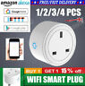 A+ Smart WiFi Plug Socket Outlet Switch APP Voice Control Amazon Google Home UK