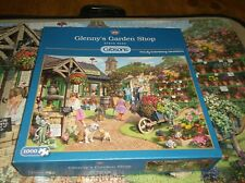 GIBS0NS 1000 PIECE PUZZLE; GLENNY'S GARDEN SHOP by STEVE READ