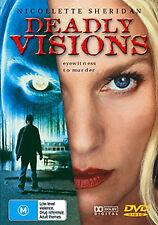 Nicollette Sheridan DEADLY VISIONS - DANGEROUS KILLER HUNT THRILLER DVD
