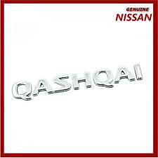 "Genuine nissan rear boot 'qashqai ""chrome badge/emblème. neuf. 90892JD000"