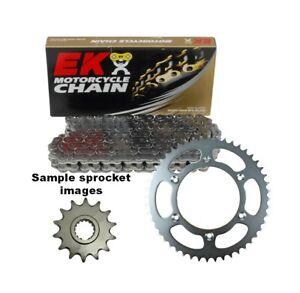 EK o-ring chain & steel sprocket kit for 2000 - 2021 Suzuki DRZ400E 15/44