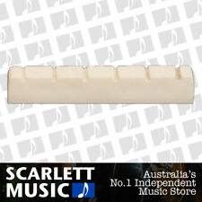 AMS Guitar Nut Slotted Saddle for Classical Guitar 6 String - 52mm X 6mm