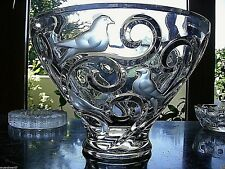 KRISTALL LALIQUE COUPE/VASE VERONE ca7,5kg 19cmH 28cmD NP 3800€ SEHR GUT ZUSTAND