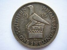 Southern Rhodesia 1935 Shilling GVF with toning