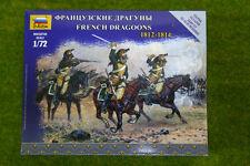 Zvezda french dragoons 1812 – 1814 6812 kit