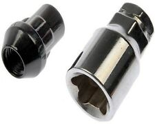 4 Pc HUMMER H3 BLACK LOCKING LUG NUTS CUSTOM WHEEL LOCKS # AP-20705BK