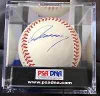 HIDEO NOMO SIGNED DODGERS MLB ROMLB BASEBALL Autographed PSA/DNA AUTHENTIC COA