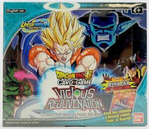 Dragon Ball Super TCG Unison Warrior Series 3 Vicious Rejuvenation Booster Box