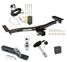 Trailer Hitch For 10-15 Lexus RX450h 13-15 RX350 Except F Sport Wiring Ball Lock