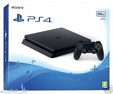 PS4 Slim 500GB Console Sony PlayStation 4  - New Model 'E' Chassis BRAND NEW