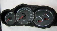 D Hyundai FX Coupé Chrome Compteur de vitesse anneaux - 3x cadre en acier inoxydable poli