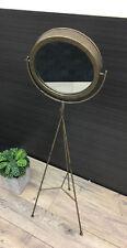 Glass Frame Round Decorative Mirrors