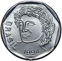 Brasilien - Münze - 25 Centavos 1994 - Kopf der Liberty