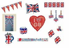 Great Britain Union Jack Team GB Party Decorations