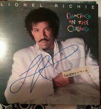 Lionel Richie Signed Commodores Autograph F