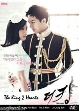The King 2hearts Korean Drama (4DVDs) Excellent English & Quality!