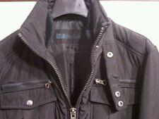 NUOVO MASSIMO REBECCHI Giubbotto bomber uomo nero tg. 46 man black jacket