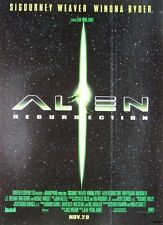 1997 Film Advert 'ALIEN RESURRECTION' Sigourney Weaver - Vintage Movie Print Ad
