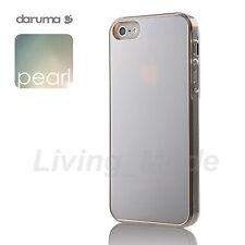Silver Premium Quality daruma S-Pearl iPhone 5 Stylish Pearl Like Cover Case