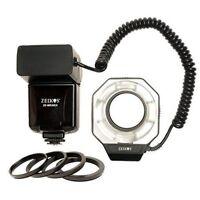 Zeikos ZE-MR26EX Ring Light/Macro Flash for Canon E-TTL E-TTL II models